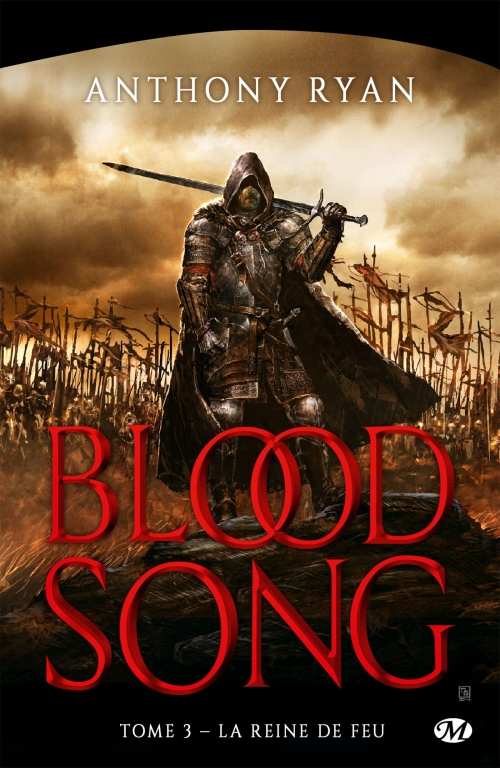 Couverture Blood song, tome 3 : La reine de feu