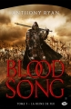 Couverture Blood song, tome 3 : La reine de feu Editions Milady (Fantasy) 2017