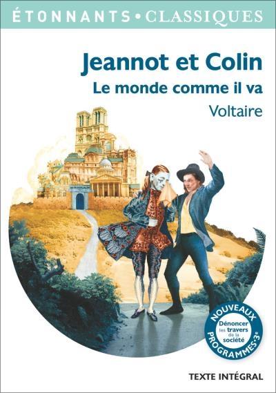 Couverture Jeannot et Colin et autres contes philosophiques