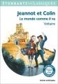 Couverture Jeannot et Colin et autres contes philosophiques Editions Flammarion (GF - Etonnants classiques) 2016