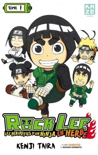 Couverture Rock Lee : Les péripéties d'un ninja en herbe, tome 1