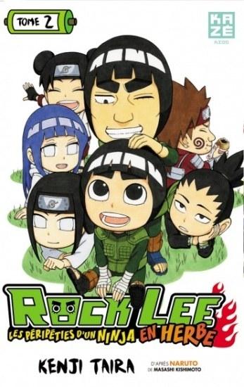 Couverture Rock Lee : Les péripéties d'un ninja en herbe, tome 2