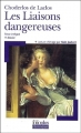Couverture Les liaisons dangereuses Editions Folio  (Classique) 2004