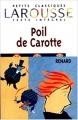 Couverture Poil de carotte Editions Larousse (Petits classiques) 1999