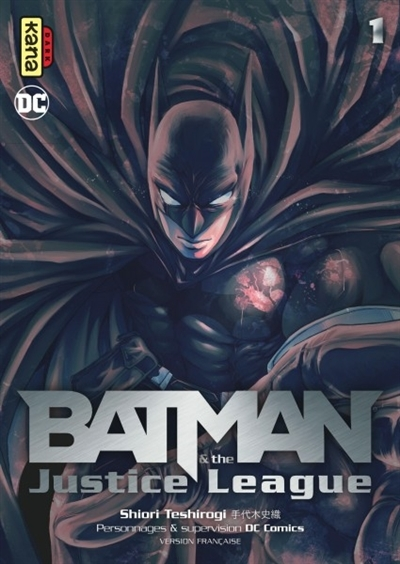 Couverture Batman & the Justice League, tome 1