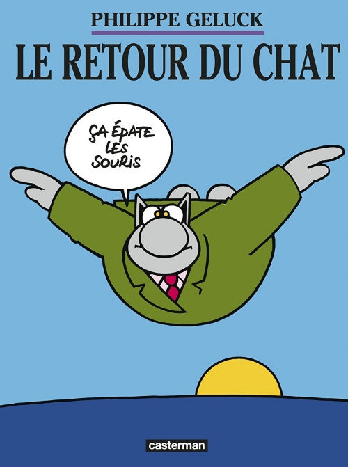 Couverture Le Chat, tome 02 : Le retour du Chat