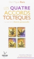 Couverture Les quatre accords toltèques Editions Jouvence 2013