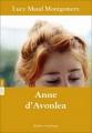 Couverture Anne d'Avonlea Editions Québec Amérique 2013