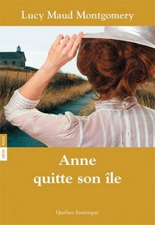 Couverture Anne quitte son île
