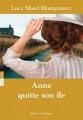 Couverture Anne quitte son île Editions Québec Amérique 2013