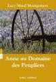Couverture Anne au domaine des peupliers Editions Québec Amérique 2013