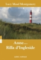 Couverture Anne... Rilla d'Ingleside Editions Québec Amérique 2013