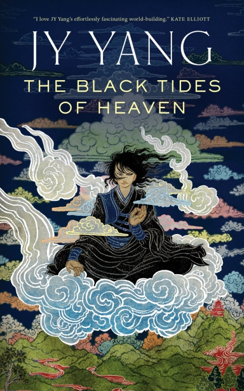 Couverture Tensorate, book 1: The Black Tides of Heaven