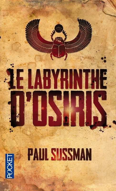 Couverture Le labyrinthe d'Osiris