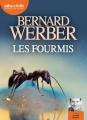 Couverture La trilogie des fourmis, tome 1 : Les fourmis Editions Audiolib 2015