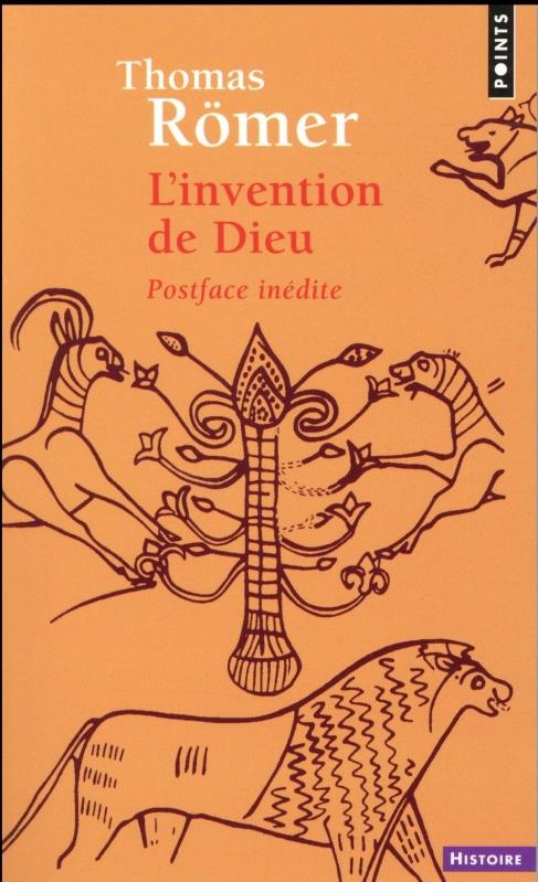 Couverture L'invention de dieu