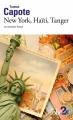 Couverture New York, Haïti, Tanger et autres lieux Editions Folio  (2 €) 2017