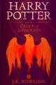 Couverture Harry Potter, tome 5 : Harry Potter et l'ordre du phénix Editions Pottermore Limited 2015