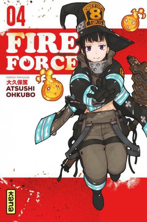 Couverture Fire force, tome 04