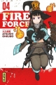 Couverture Fire force, tome 04 Editions Kana (Shônen) 2017