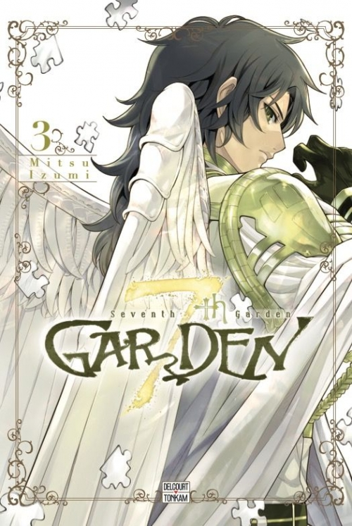 Couverture 7th Garden, tome 3