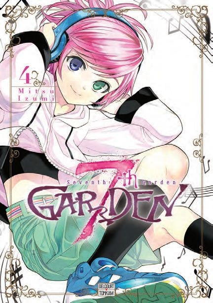 Couverture 7th Garden, tome 4