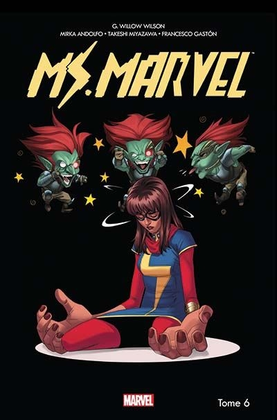 Couverture Miss Marvel (Marvel Now), tome 6 : Dégâts par seconde