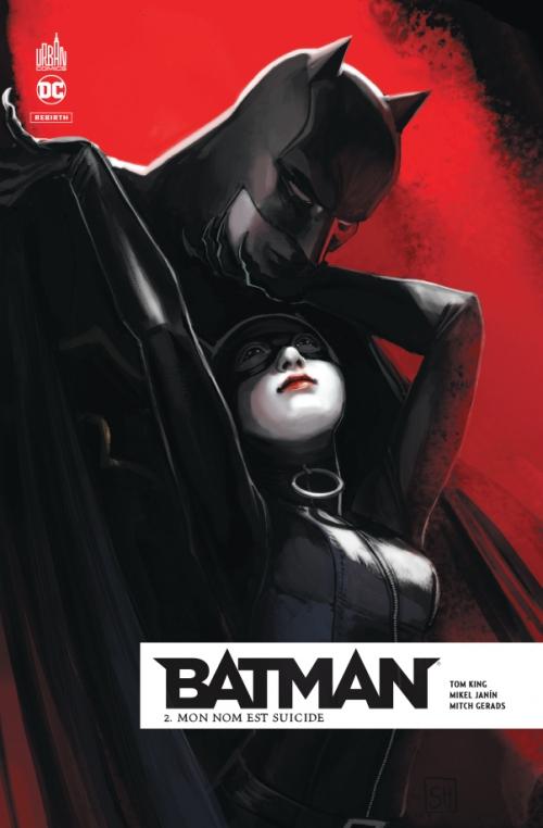Couverture Batman Rebirth, tome 02 : Mon nom est Suicide
