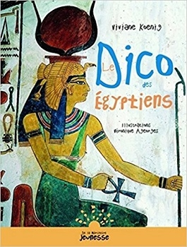 Couverture Le dico des égyptiens