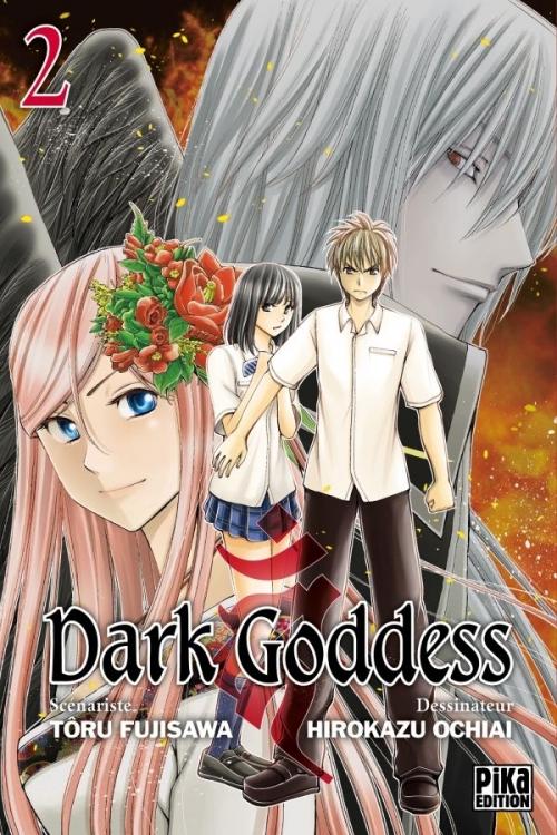 Couverture Dark goddess, tome 2