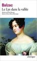 Couverture Le lys dans la vallée Editions Folio  (Classique) 2004