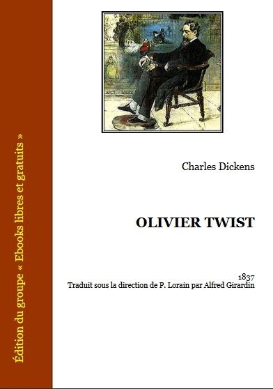 Couverture Olivier Twist