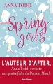 Couverture Spring girls Editions Hugo & cie (New romance) 2017