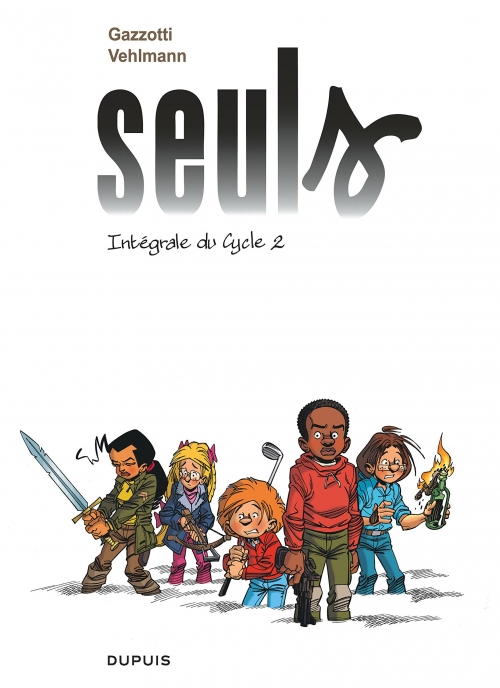 Couverture Seuls, intégrale, tome 2