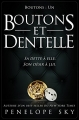 Couverture Boutons, tome 1 : Boutons et dentelle Editions CreateSpace 2017