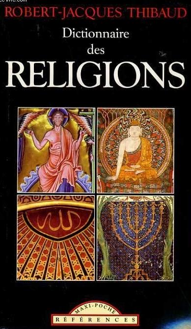 Couverture Dictionnaire des religions