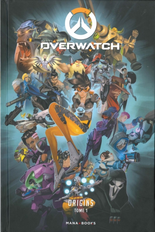 Couverture Overwatch, tome 1 : Origins
