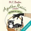 Couverture Agatha Raisin enquête, tome 02 : Remède de cheval Editions Audiolib 2017