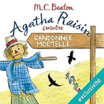 Couverture Agatha Raisin enquête, tome 04 : Randonnée mortelle