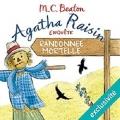 Couverture Agatha Raisin enquête, tome 04 : Randonnée mortelle Editions Audiolib 2017