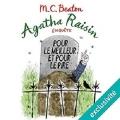Couverture Agatha Raisin enquête, tome 05 : Pour le meilleur et pour le pire Editions Audiolib 2017