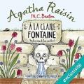 Couverture Agatha Raisin enquête, tome 07 : À la claire fontaine Editions Audiolib 2017