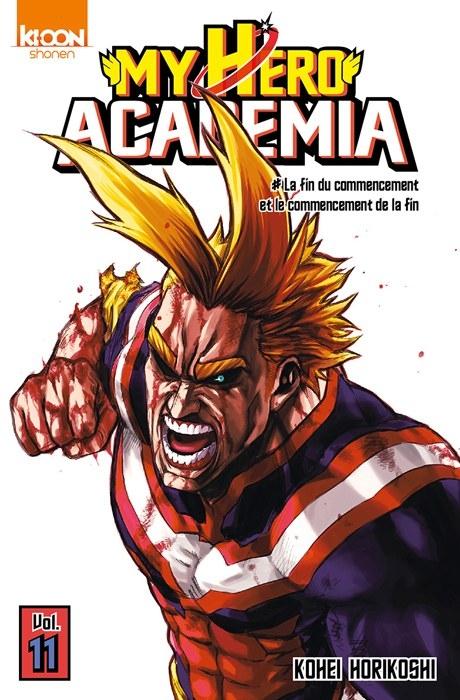 Couverture My Hero Academia, tome 11 : La fin du commencement et le commencement de la fin