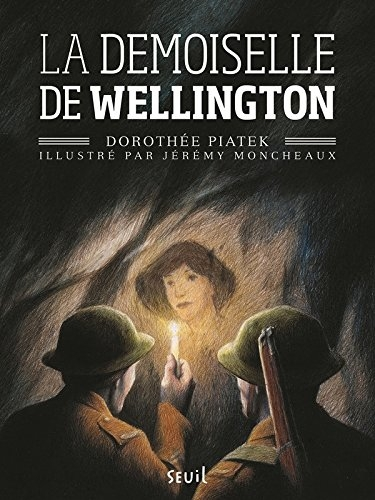 Couverture La demoiselle de Wellington