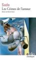 Couverture Les crimes de l'amour Editions Gallimard  1987