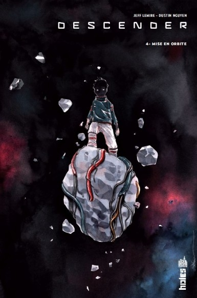 Couverture Descender, tome 4 : Mise en orbite