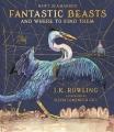 Couverture Les Animaux fantastiques : Vie & habitat, illustré Editions Bloomsbury 2017