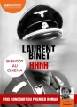 Couverture HHhH Editions Audiolib 2016