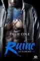 Couverture Les écorchés, tome 1 : Ruine Editions Milady (New Adult) 2017