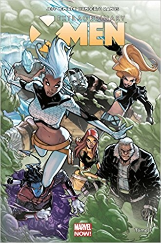 Couverture Extraordinary X-Men, tome 1